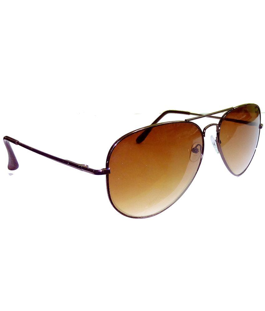 brown lens aviator sunglasses  Hrinkar Aviator Sunglasses Brown Frame Brown Lens with Aviator ...