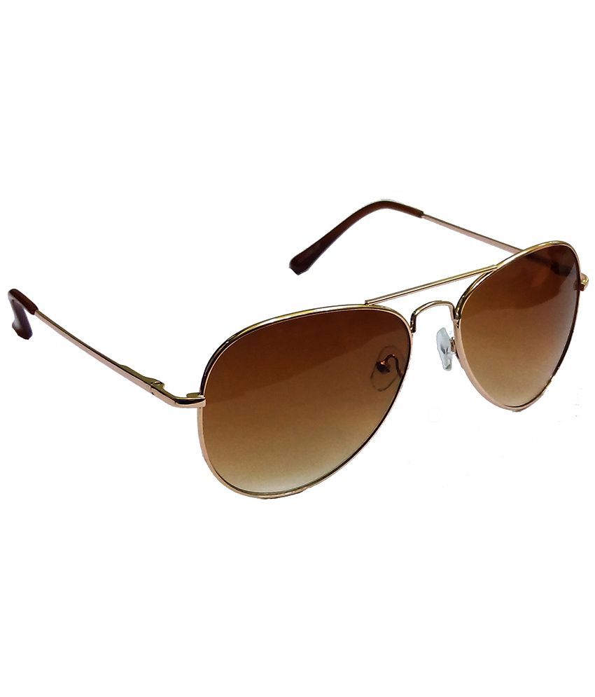 ... Hrinkar Aviator Sunglasses Gold Frame Brown Lens with Wayfarer Black  Red Frame Gray Lens and 3D ... 8e10075ea09