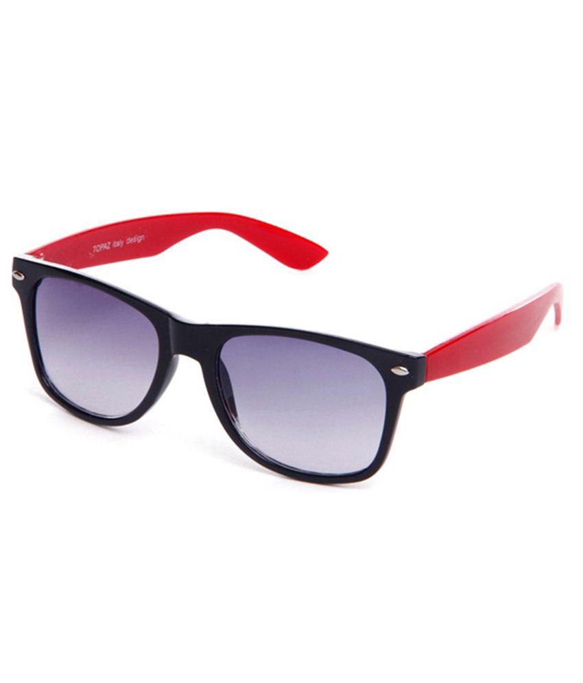 bc019d4630 Hrinkar Aviator Sunglasses Gold Frame Brown Lens with Wayfarer Black Red  Frame Gray Lens and 3D Glass - Pack of 3 - Buy Hrinkar Aviator Sunglasses  Gold ...