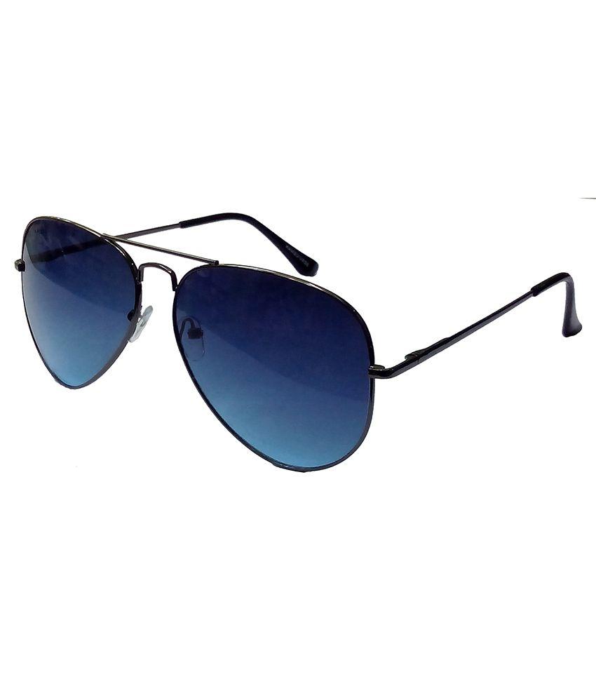 76867432681c4 Hrinkar Aviator Sunglasses Silver Frame Light Blue Lens with Aviator Black  Frame Dark Blue Lens and 3D Glass - Pack of 3 - Buy Hrinkar Aviator  Sunglasses ...