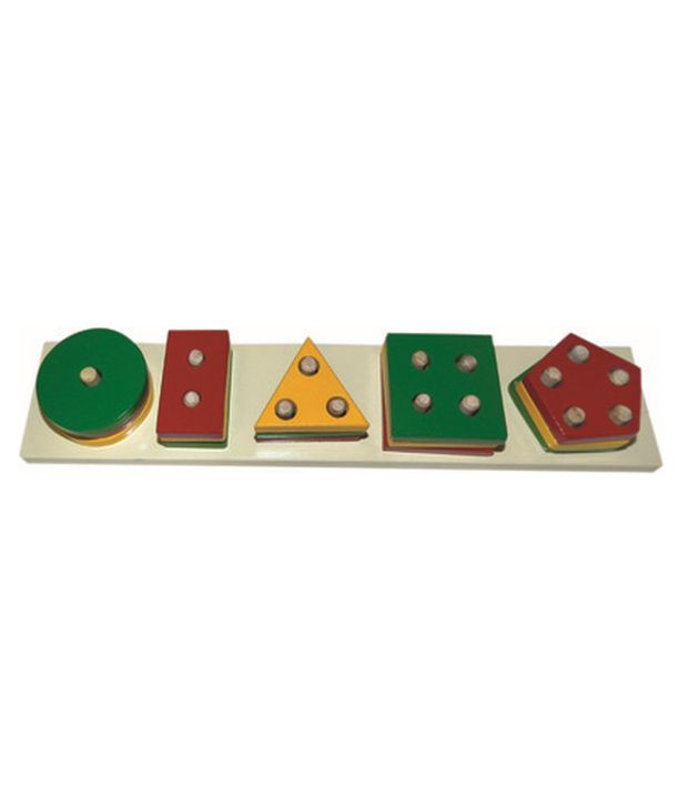 Kinder Creative Kinder Creative Shapes Stacking Board
