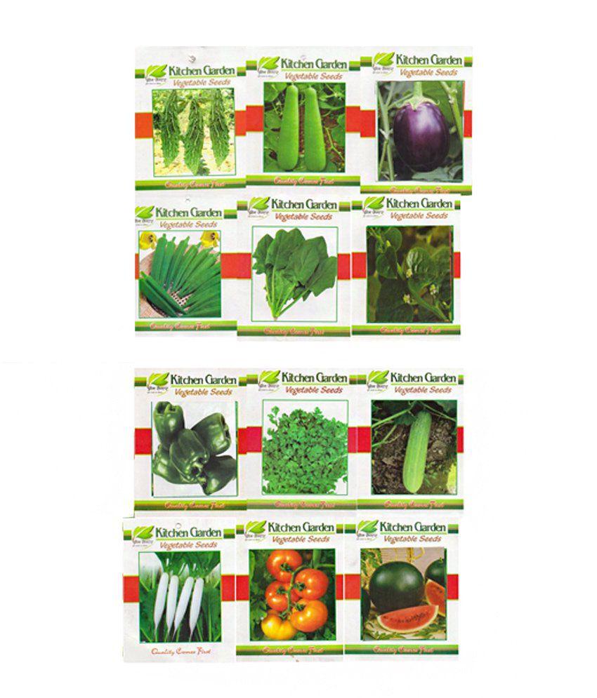 Charmant Kitchen Garden Vegetable Seeds