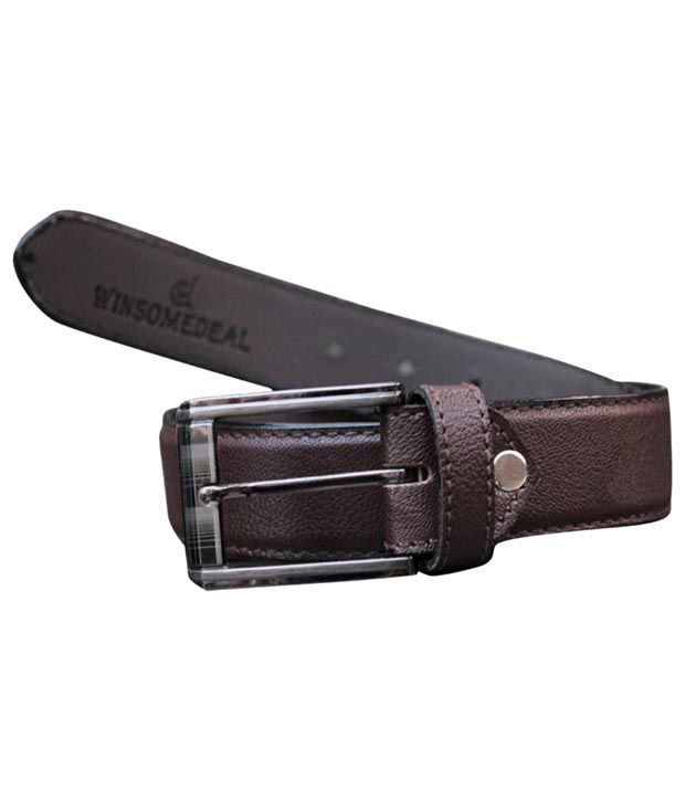 Winsome Deal Superb Brown Belt For Men