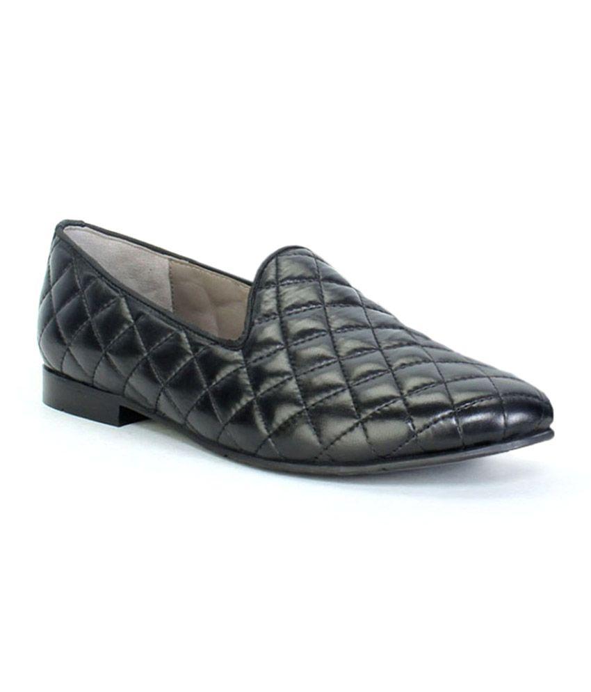 Bareskin Black Slip-on Shoes