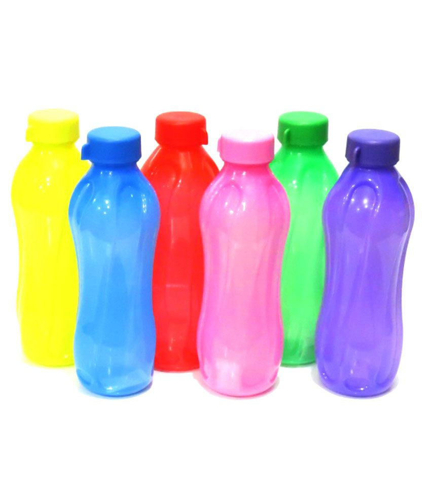Cello Water Bottle Set Of 6
