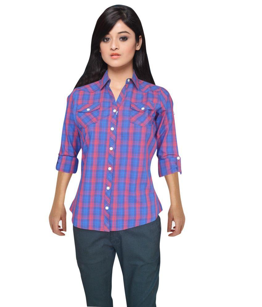 Defossile Cotton Regular Check Shirt