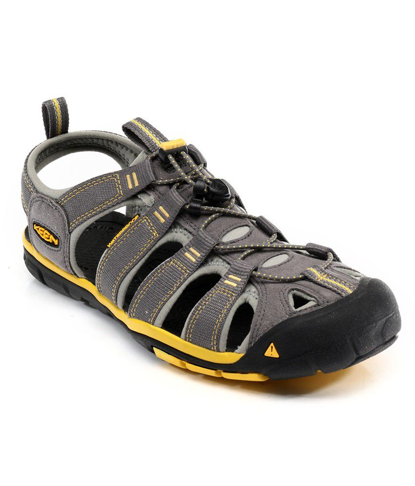 3864e1549fc Keen Clearwater Gray Sandals - Buy Keen Clearwater Gray Sandals Online at  Best Prices in India on Snapdeal