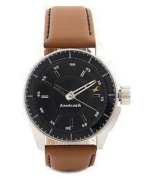 Fastrack rwc-3089sl05 Leather Analog