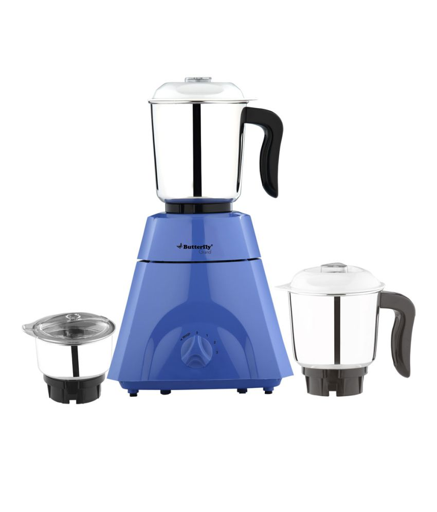 Butterfly Grand Plus 3 Jar Mixer Grinder White