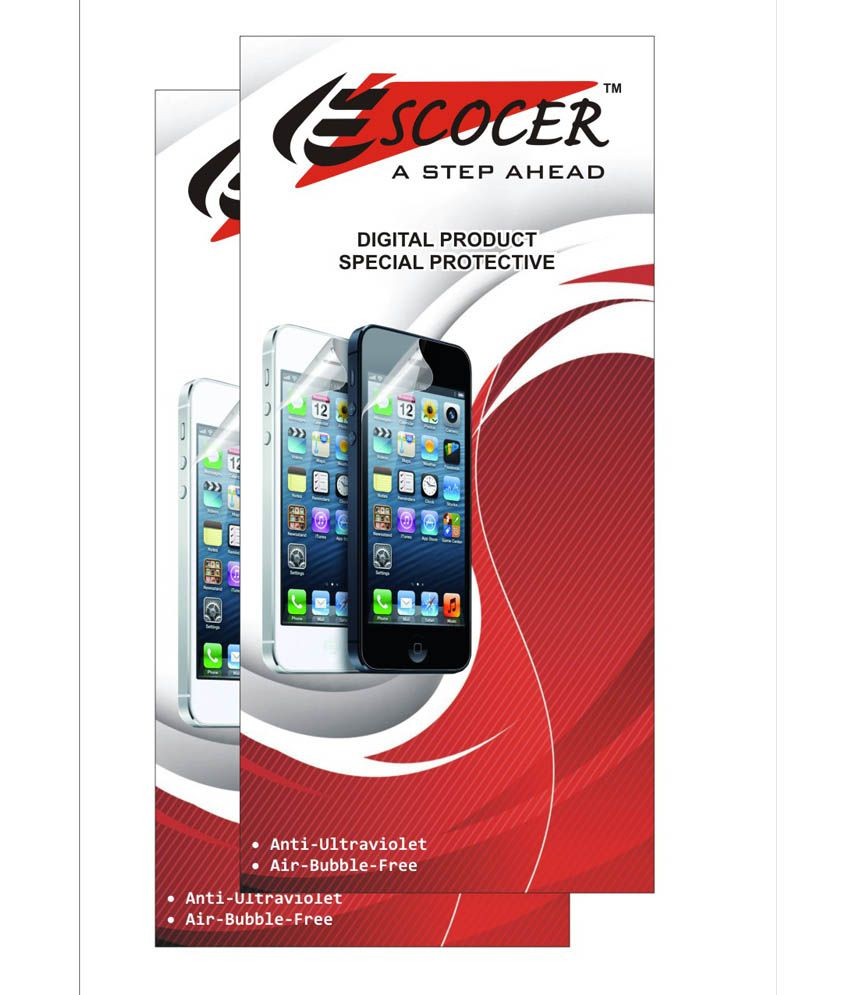 Samsung Galaxy Grand Prime G530 Clear Screen Guard by Escocer