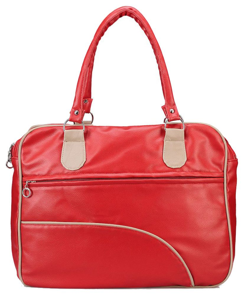 Nell H1099_red Red Shoulder Bags