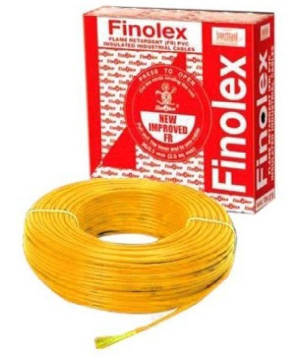Finolex 1.5 Sq Mm Fr Wire-yellow