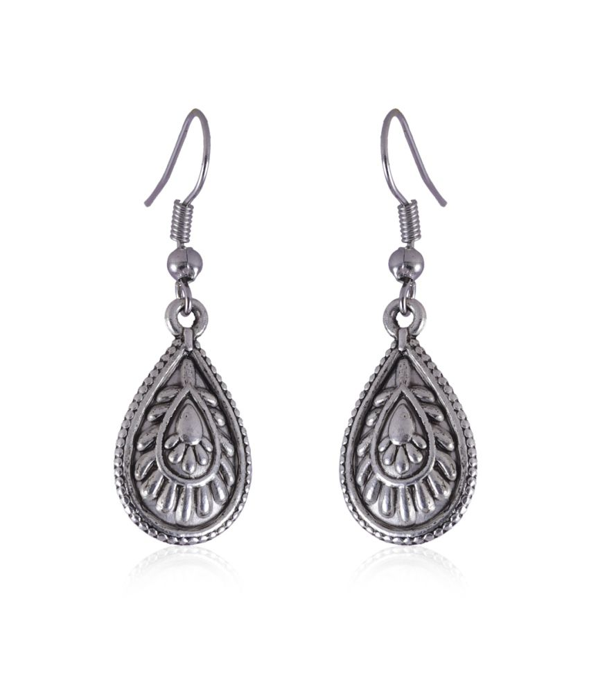 Jewelizer Style Diva Alloy Drop Earrings