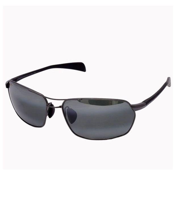 cc9a1850a6 Maui Jim Maliko Gulch Gunmetal - Neutral Grey 324-02d Polarised - Buy Maui  Jim Maliko Gulch Gunmetal - Neutral Grey 324-02d Polarised Online at Low  Price - ...