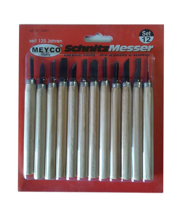 b48ea52af Meyco 12pc Wood Carving Tool Set: Buy Online at Best Price in India -  Snapdeal