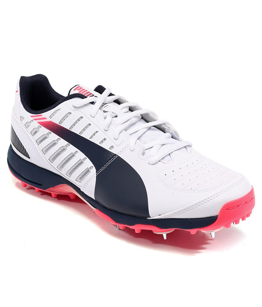 Puma Evospeed Cricket Spike 1.3 White Sport Shoes - Buy Puma Evospeed  Cricket Spike 1.3 White Sport Shoes Online at Best Prices in India on  Snapdeal b98ae8f0f