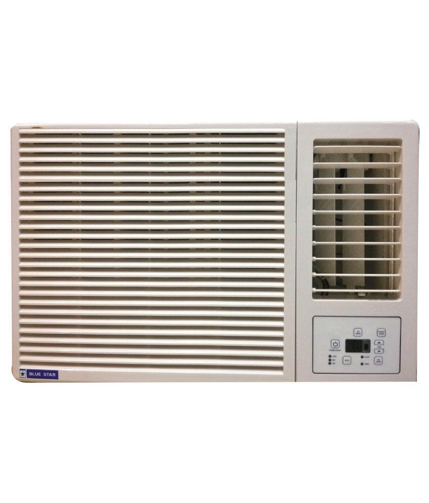 Blue star 1 5 ton 2 star 2w18ga window air conditioner for 2 ton window air conditioner