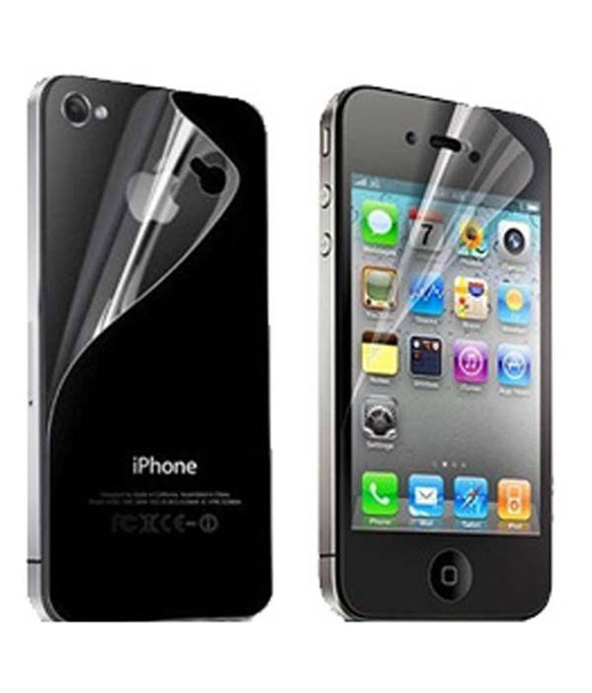 Jks Anti Glare Matte Finish Screen Guard Protector For Apple Iphone 4 4s 4g -- Pack Of 4