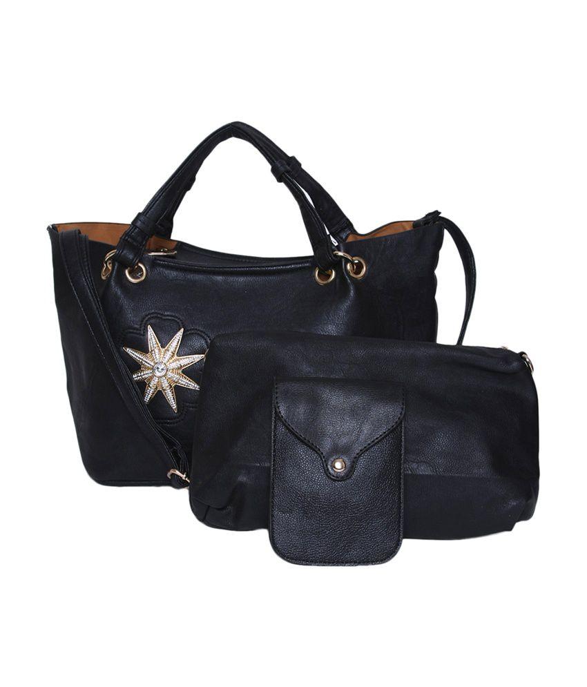 The Gud Look Set Of 3 Starfish Handbag