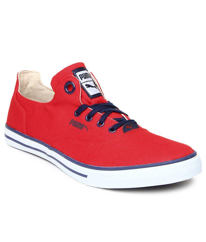 b5278dd4 Puma Red Sneaker Shoes