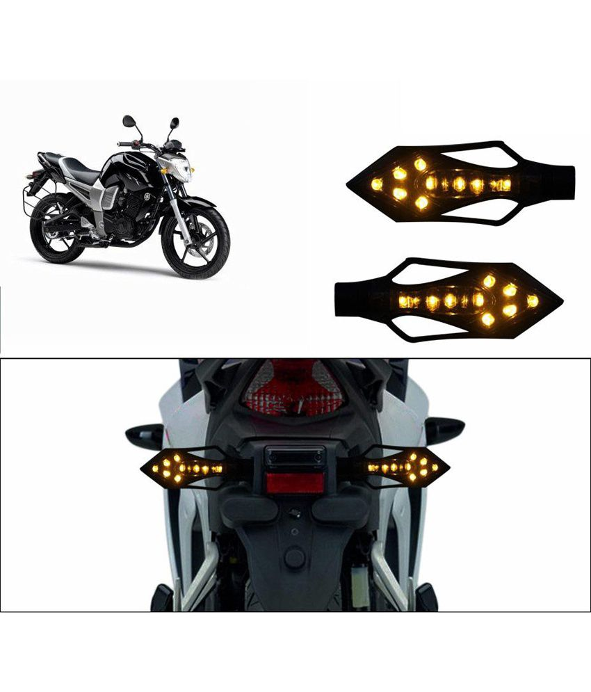 Spedy Blue Stylish Led Bike Indicators For Bajaj Pulsar 150