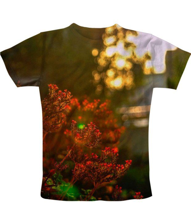 Freecultur Express Green Cotton Blend T-shirt