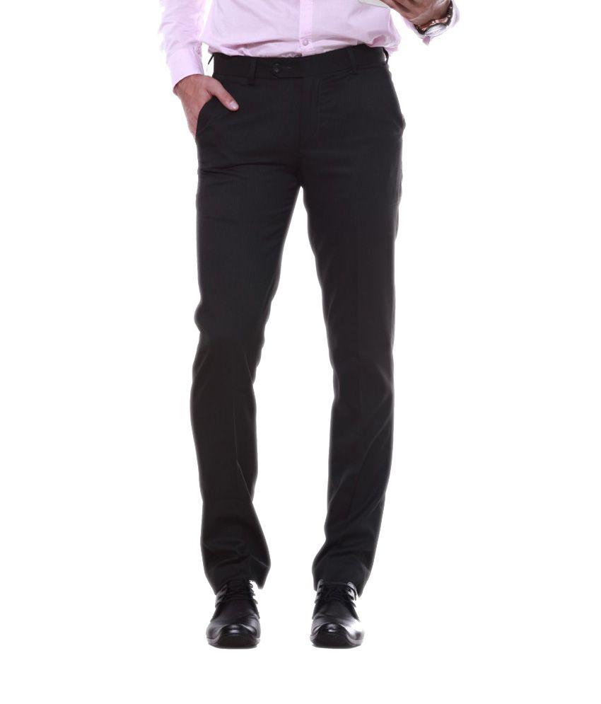 Sangam Apparels Ravishing Slim Fit Men's Dark Green Trouser