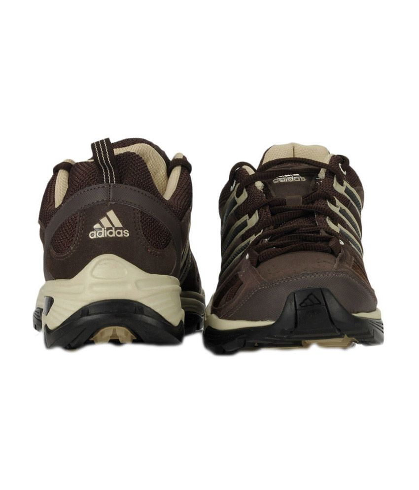 Hacia abajo Canberra Excelente  Adidas Brown Synthetic Leather Men's Sport Shoes - Buy Adidas Brown  Synthetic Leather Men's Sport Shoes Online at Best Prices in India on  Snapdeal