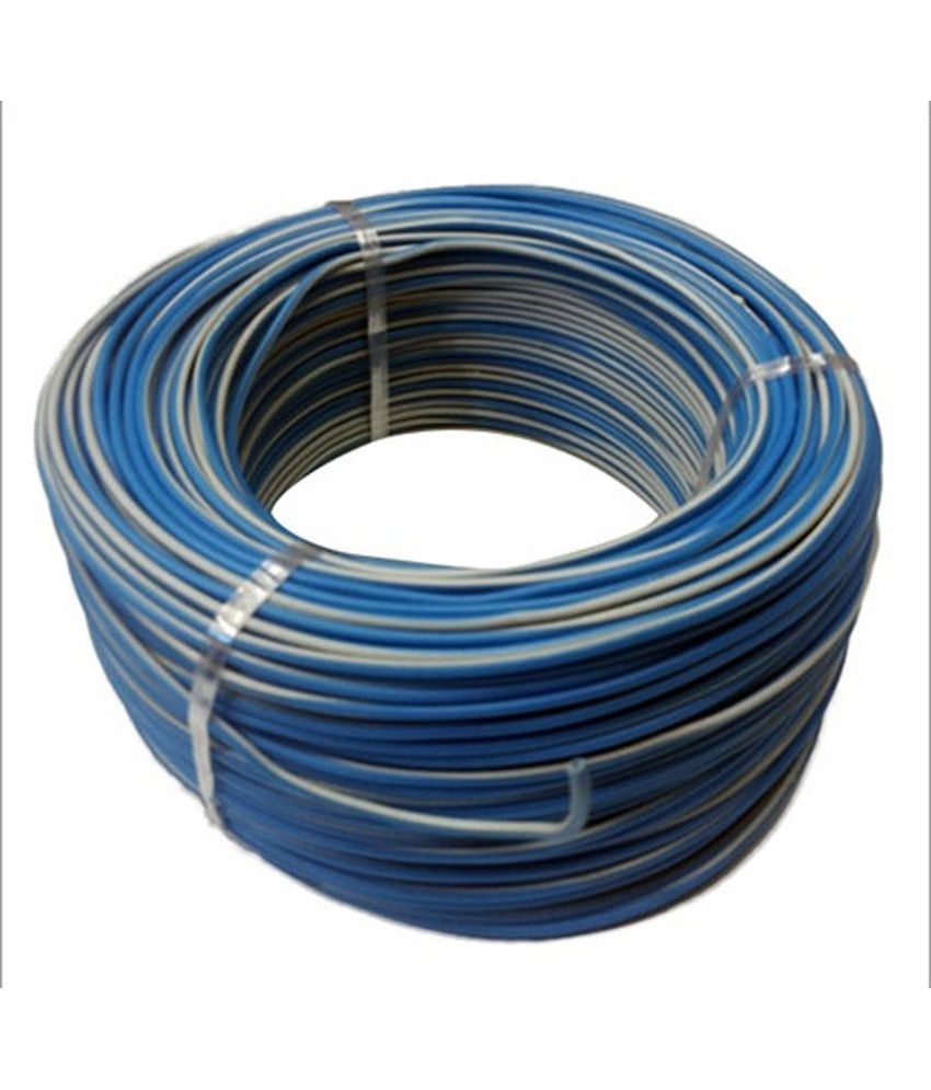 Buy Bhatia Cable House Multicolour Thin Pvc Wire 100 Meter Online Wiring