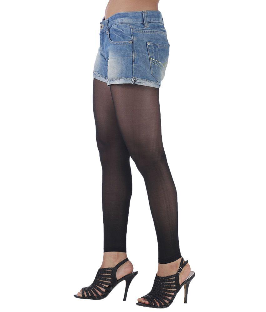 golden sheer black ankle free stockings buy online at low