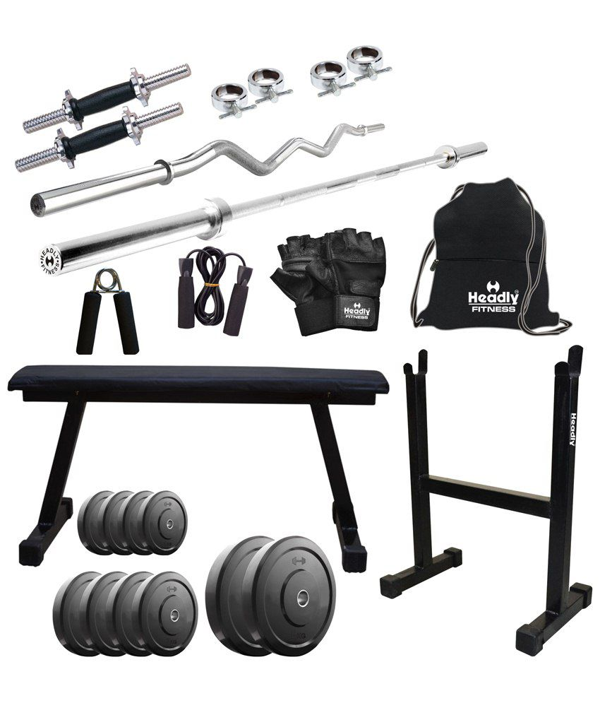 Headly kg home gym inch dumbbells rods flat