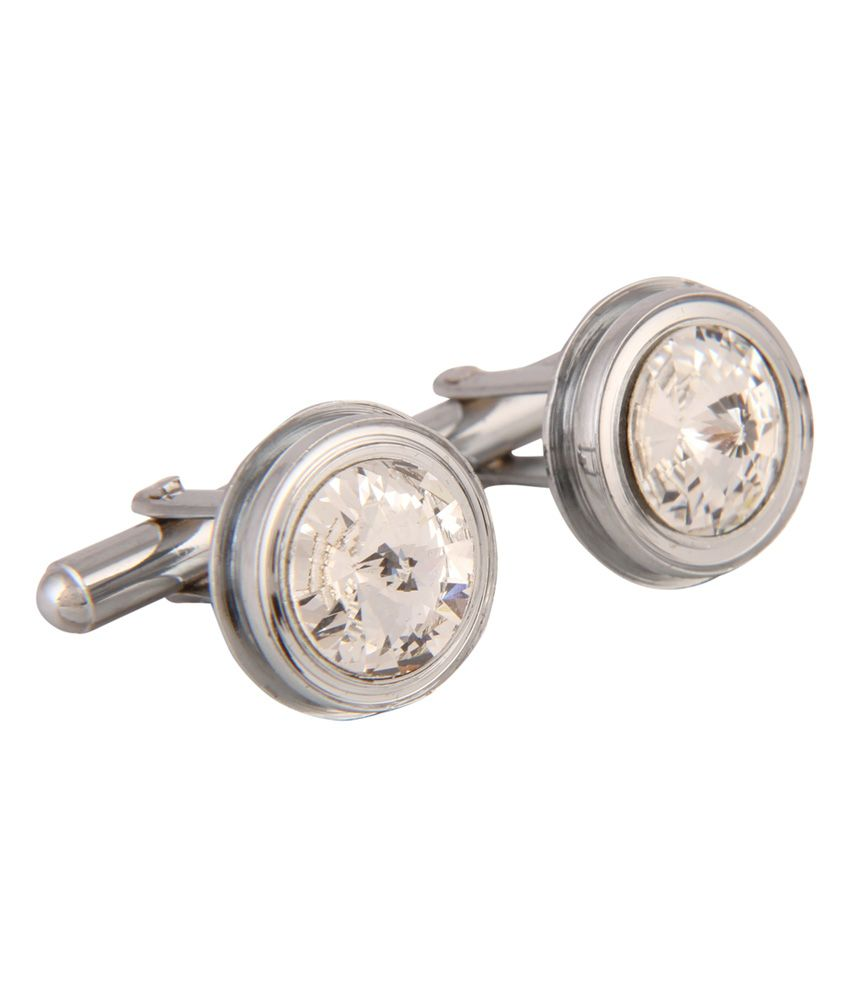 Kairos Exclusive Rhodium Designer Cufflinks