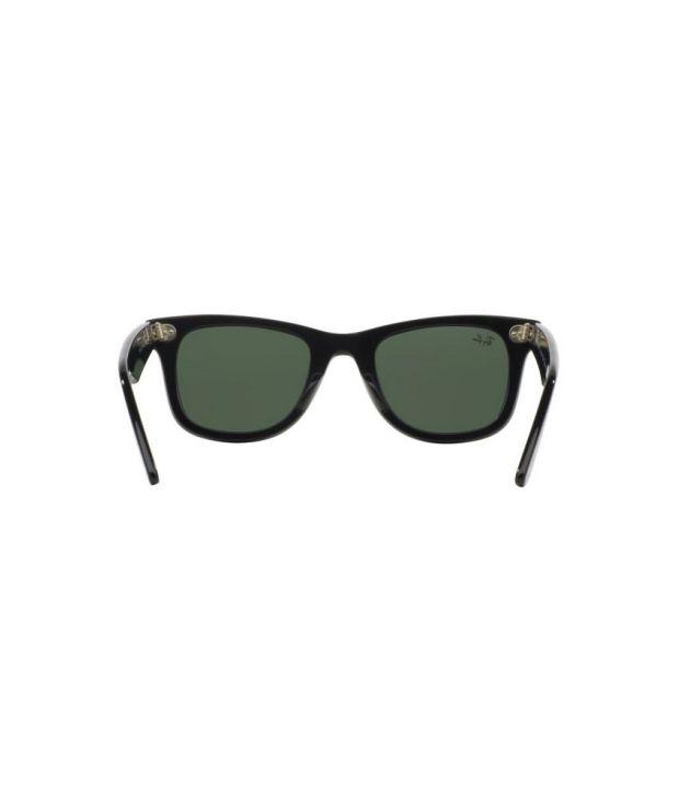 rb2140 901 50 22 3n  Ray-Ban Green Wayfarer Sunglasses (RB2140 901 50-22) - Buy Ray-Ban ...
