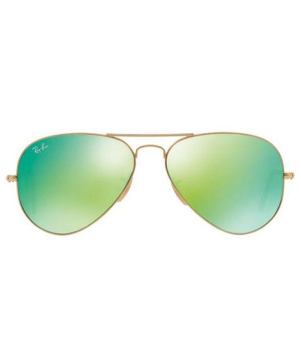 62e040b02c ... Ray-Ban RB3025 112 19 Size  55 ORIGINAL AVIATOR Gold   Green Sunglasses  ...
