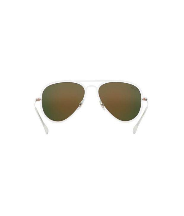 285ea202f1 Ray-Ban RB4211 646 6Q Square Clear   Orange Sunglasses - Buy Ray-Ban ...