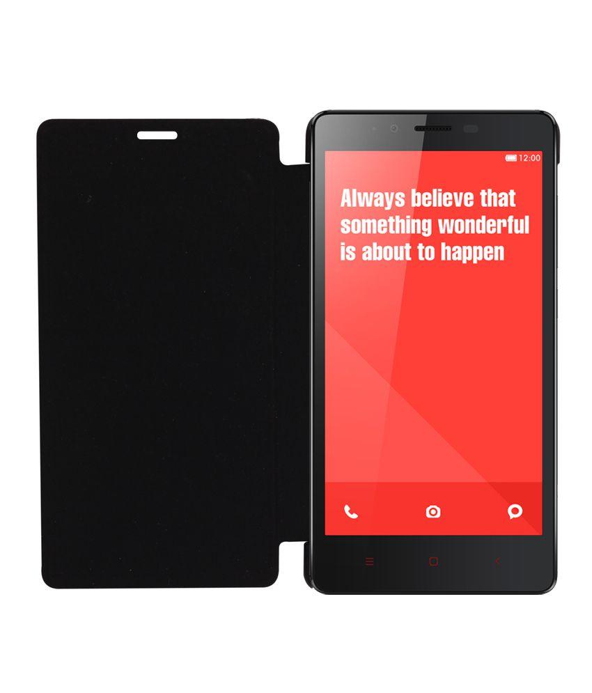 pretty nice aedd6 ae474 Rdcase Flip Cover For Xiaomi Redmi Note 4g - Black