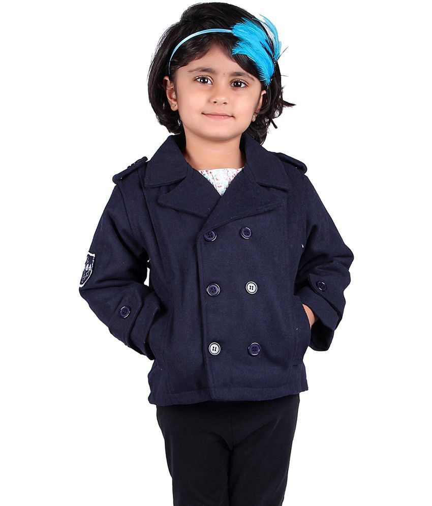 Stylemykidz Navy Trench Coat