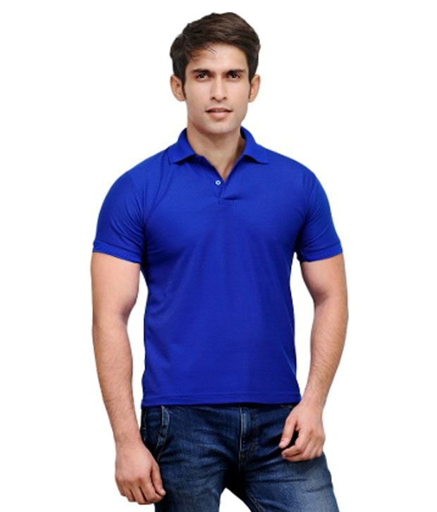 Black beetle blue cotton men 39 s polo t shirt buy black for Mens collared t shirts