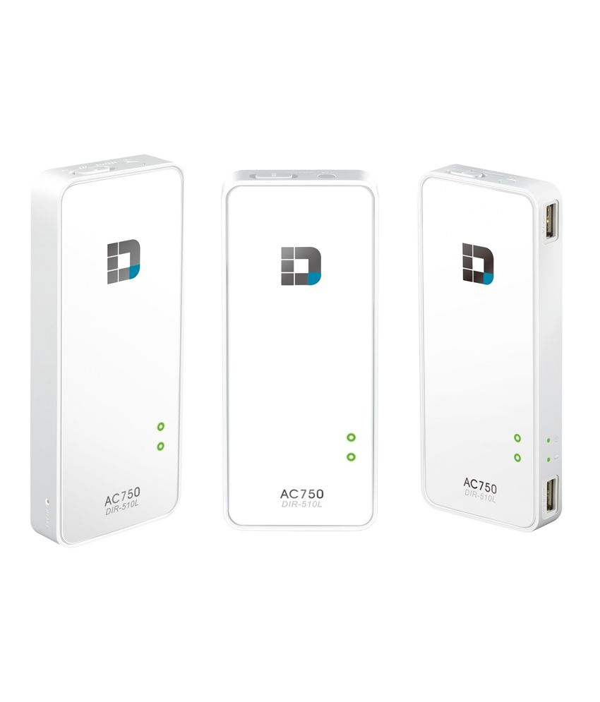 D-link Dir-510l Ac750 Portable Router And Charger
