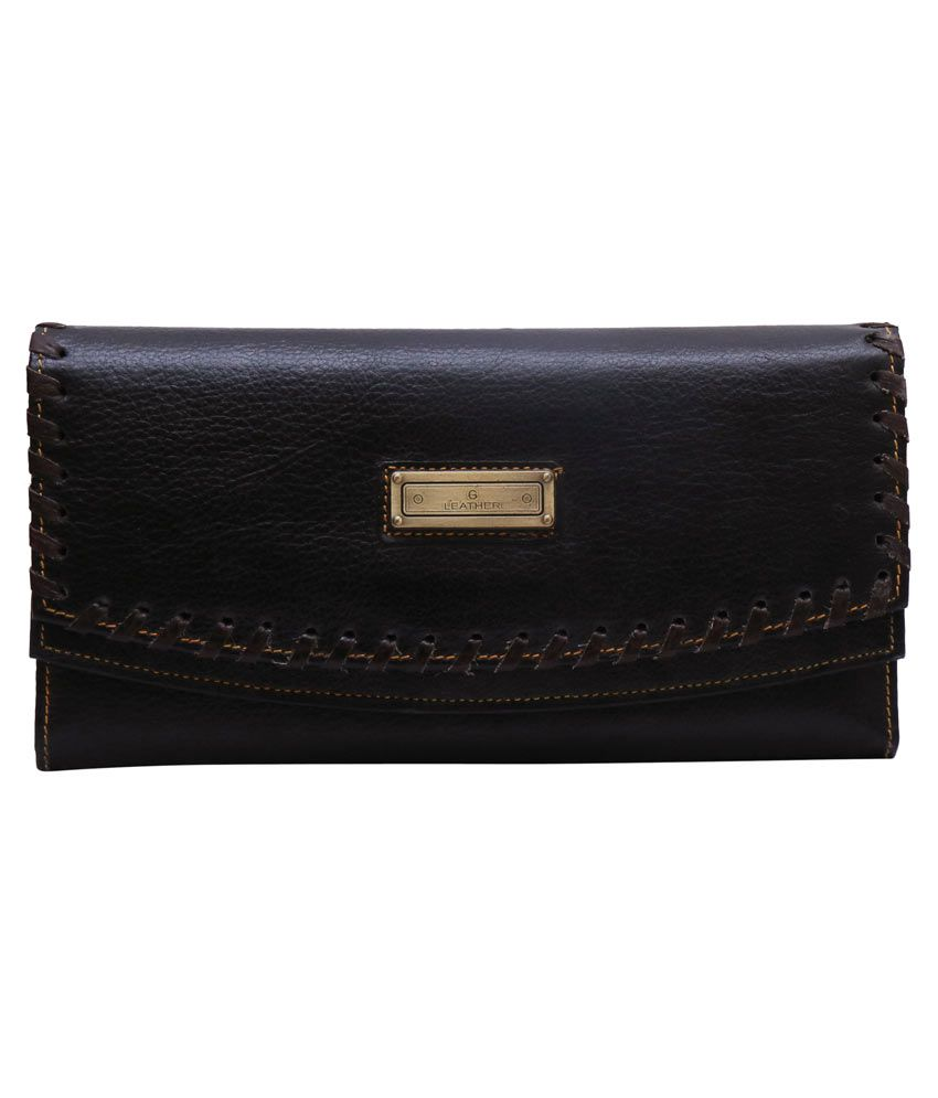 Lustre International Ladies Wallet Combo (ladies Wallet + Leather Keyring + Scarf )