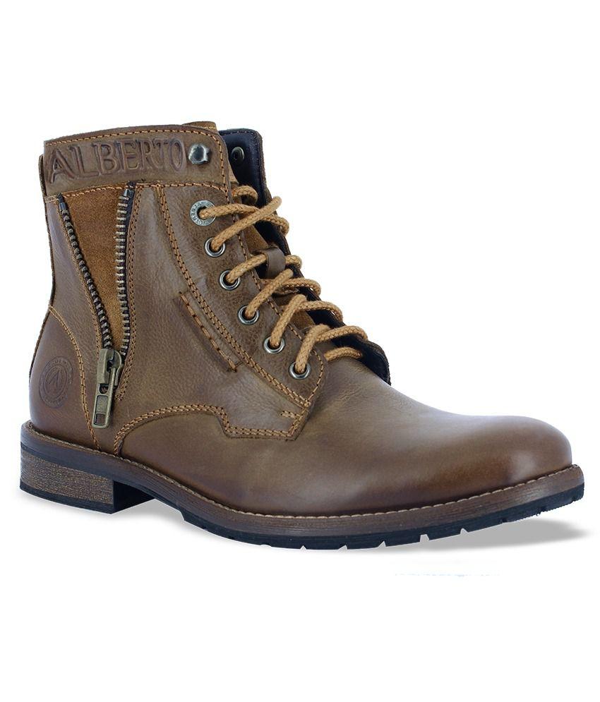 68a85dbb676 Alberto Torresi Tan Boots