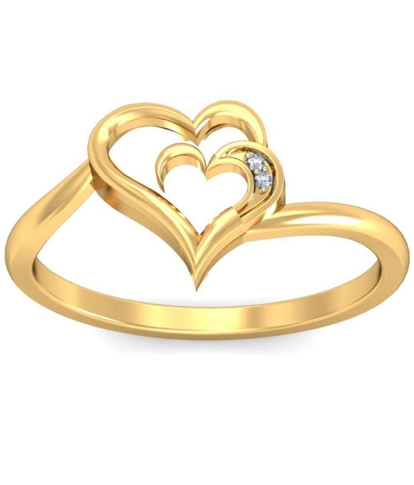 Demira Jewels 14kt Gold Ring 100%Certified: Buy Demira ...