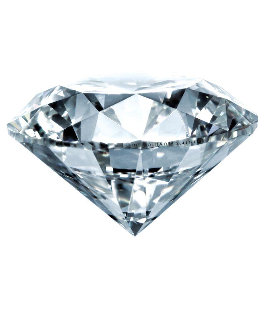 Divine Solitaires 0.19 Ct Vvs2 Loose Diamond