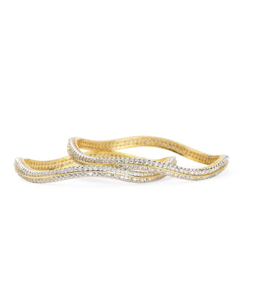 Esmartdeals Gold Alloy Bangles