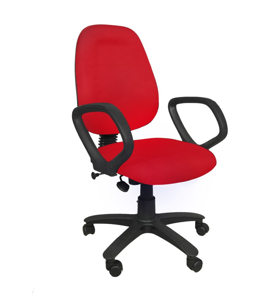 nice revolving office chair red buy nice revolving office chair rh snapdeal com