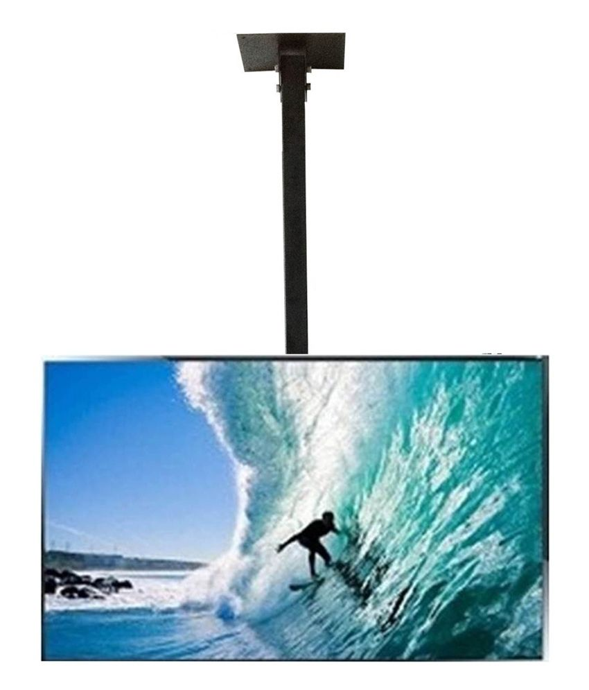 Smart Shelter Lcd/led/plasma Tv Height Adjustable Ceiling Mount Upto 42 Inch Tvs