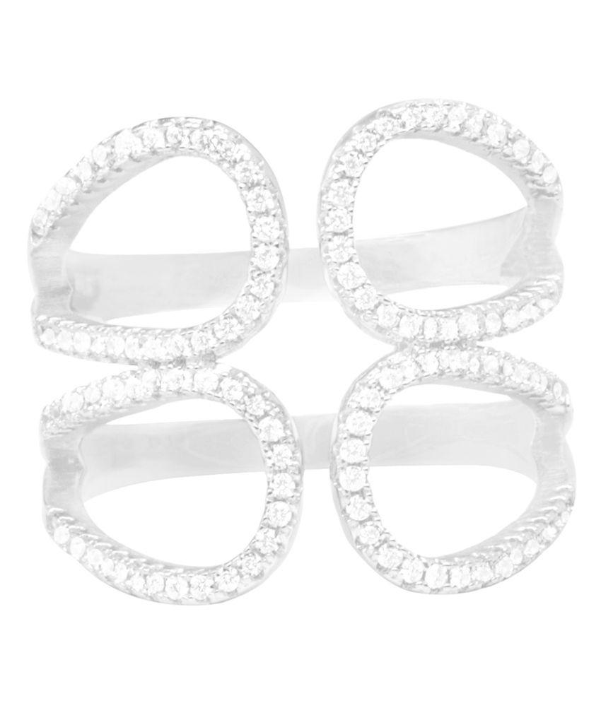Sterling Silver Italian Design Ring