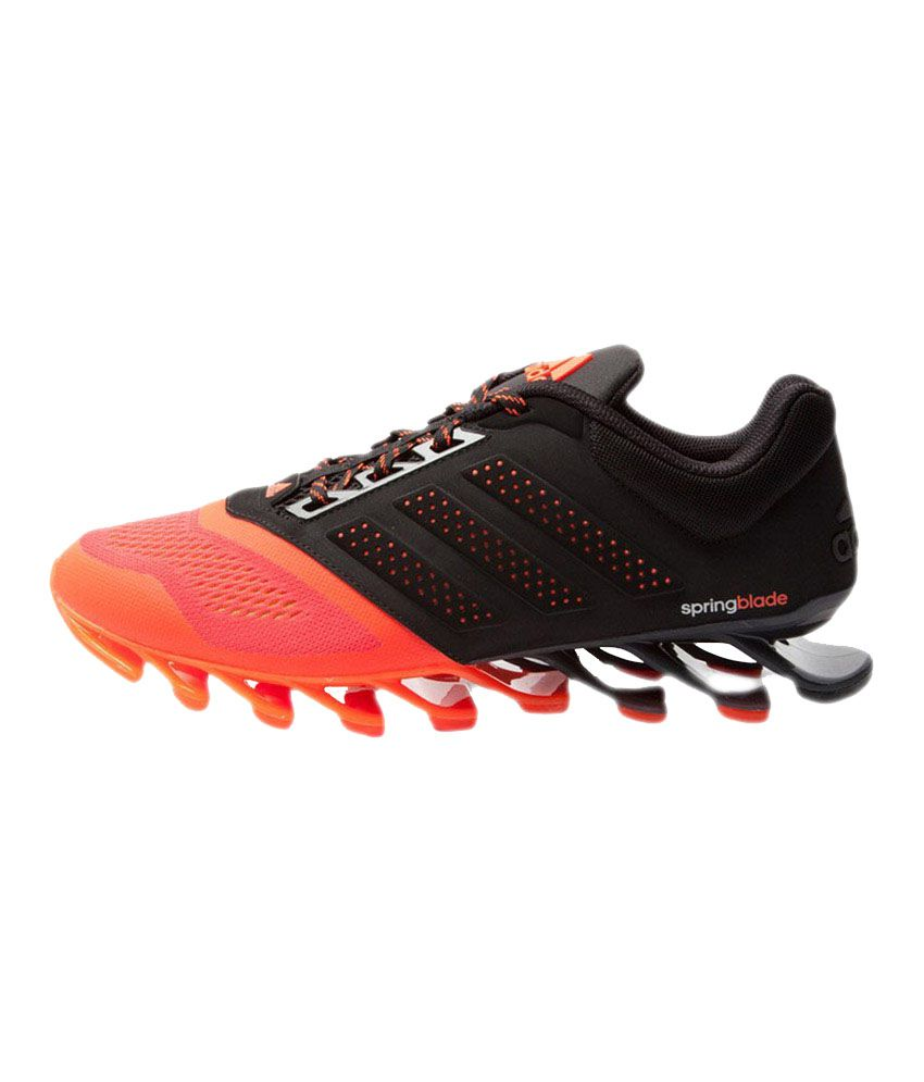 newest 0338c 41009 ... Adidas Spring Blade 2015 Red And Black Sports Shoes ...