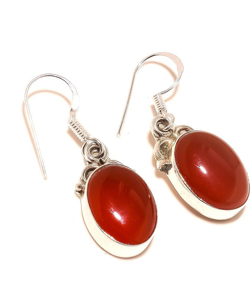 Kirti Impex Red Onyx Hot New Dangle Earring