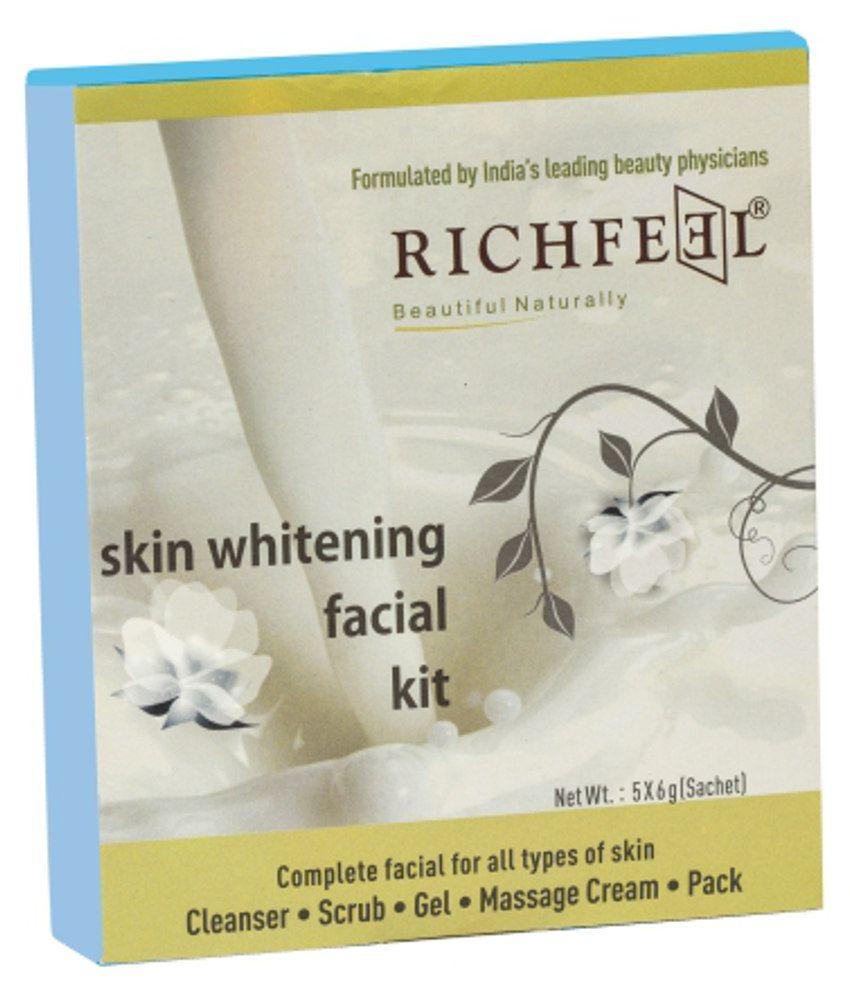 Richfeel Skin Whitening Facial Kit 30gm Buy Lightening Scrub